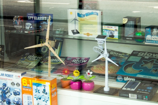 That you can buy mini turbines at a toy shop in Copenhagen says a lot about deeply renewable energy has soaked into Danish culture.