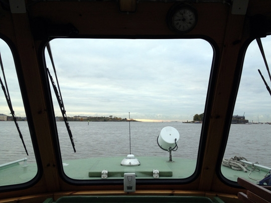 The 20-minute ride to Suomenlinna