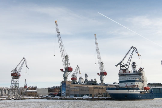 The Hietalahti shipyard was in top form last week